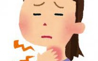 最初は喉に違和感を感じ、腫れているかと思い耳鼻科へ